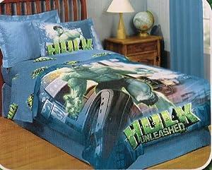 Amazon.com - The Incredible Hulk Twin Sheet Set - Pillowcase And Sheet ...