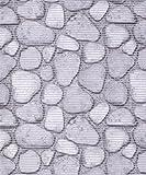 Badvorleger, Aquamat Antirutsch Matte, Bodenbelag, Bad Garten Küche, 800×65 cm, Länge wählbar, Steine Grau