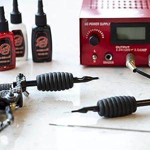 1TattooWorld 50 Pcs 9 Round Liner Sterilized Tattoo Needles, OTW-50-9RL