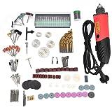 Electric Grinder Set 6 Speed Adjustable Mini Drill Engraver Polishing Advanced Multi-functional Rotary Tool Kit 240W(US Plug 110V) (Color: US Plug 110V)