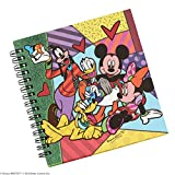 Enesco Disney by Britto Fab Five Spiral Notebook Journal, 0.65-Inch