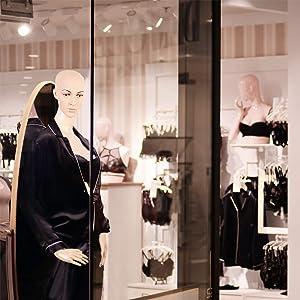 Mannequin Manikin Dress Form 69 Adjustable Dress Model Female Full Body Mannequin Stand Realistic Mannequin Display Head Turns W/Metal Base (Tamaño: 175)