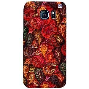 Beautiful Multicolor Design - Mobile Back Case Cover For Samsung Galaxy S6