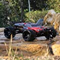 Babrit F11 High Speed 1/12 Scale RC Car 2.4Ghz 2WD Remote Control Trucks Radio Remote control Off Road Truck Off-Road 33+MPH for Children-Red color