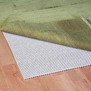 No slip rug pad rugs sale for Hardwood floors slippery