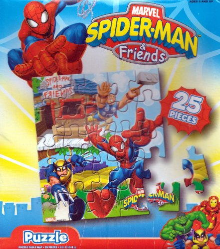 Spiderman and Friends 25pc. Puzzle