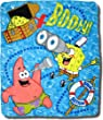 "SpongeBob - ""Booty Bob"" Fleece Throw Blanket"