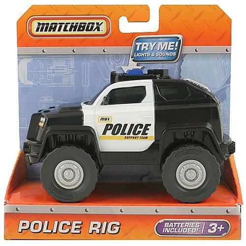 Matchbox Police Rig