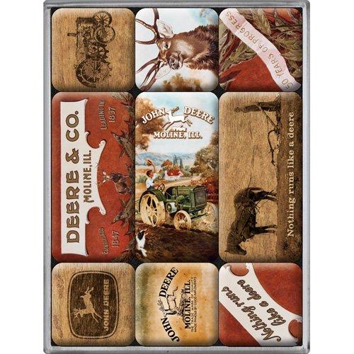 nostalgic-art-83026-john-deere-magnet-set-9-teilig