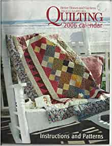 Better Homes Gardens American Patchwork Quilting 2006