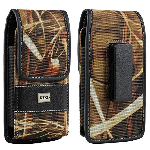 iPhone 6 5S 5C 5 Galaxy S5 S4 S3 S2 HTC Evo 4G Universal Pouch 360 Degree Rotating Belt Clip Case Camouflage Hunter Flip Magnetic Closure Durable Vinyl Outside And Soft Cotton Velvet Inside Holster Clip Pouch Carrying Sleeve Holder Vertical and Horizontal Position Carrying Pouch Fits With Otterbox Defender Case Series Cover On Apple iPhone 6 4.7, iPhone 5S, iPhone 5C, iPhone 5, Samsung Galaxy S5, Galaxy S4, Galaxy S3, Galaxy S2, HTC Evo 4G LTE (Iphone 4 Belt Holder compare prices)