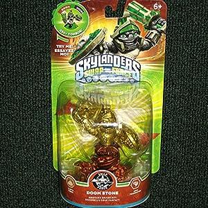 Skylanders SWAP Force Doom Stone GOLD and BRONZE Metallic Variant