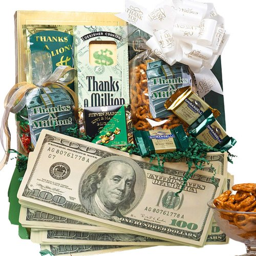 Art of Appreciation Gift Baskets Thanks A Million