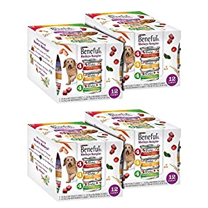 Purina Beneful Medleys Variety Pack Dog Food 12-3 oz. Cans (4 Pack)