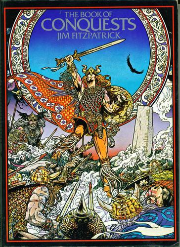Jim Fitzpatrick did some amazing illustrations for his version of the story.