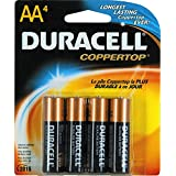 Duracell Batteries / 4 AA - size batteries