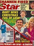 Burt Reynolds, Loni Anderson, Julia Roberts, Michael Jackson, Shannen Doherty, Kristy McNichol - December 28, 1993 Star Magazine