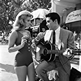 Elvis Presley Ann Margaret Behind The Scenes Viva Las Vegas Poster Art Photo Hollywood Movie Posters Artwork Photos 12x12