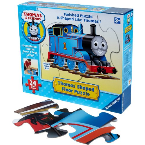 Cheap Fun Ravensburger Thomas Shaped Floor Puzzle (24 pc) — (B005H7BAEG)