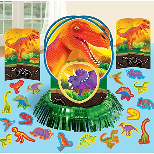Dinosaurs ( Prehistoric Party ) Party Table Decorations Kit ( Centerpiece Kit ) 23 PCS - Kids Birthday and Party Supplies Decoration