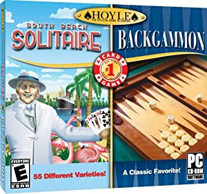 Hoyle South Beach Solitaire + Hoyle Backgammon [Old Version]
