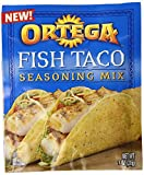 Ortega Fish Taco Seasoning Mix, 1 Ounce (Pack of 12)