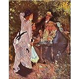 Art Panel - In The Garden (in The Garden Bower Of Moulin De La Galette By Renoir