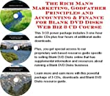 img - for The Rich Man's Marketing, Godfather Principles and Accounting & Finance for Blank DVD Disks Web Biz 3 CD Course book / textbook / text book