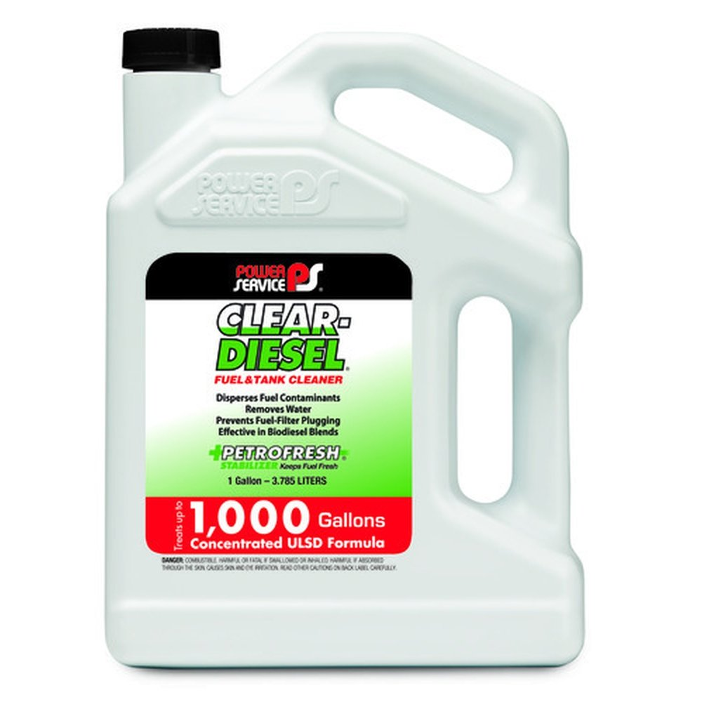 Power Service 09228-04-4PK Clear-Diesel Fuel & Tank Cleaner - 1 Gallon, (Pack of 4) система хранения infortrend eonstor ds 1012g b x12 3 5 2x460w ds1012g00000b 8732