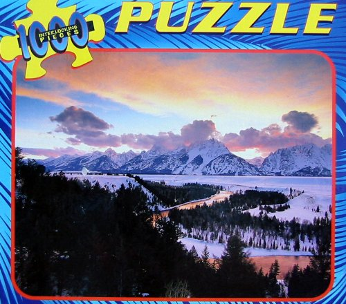 1000pc. Snow Covered Mountains Puzzle