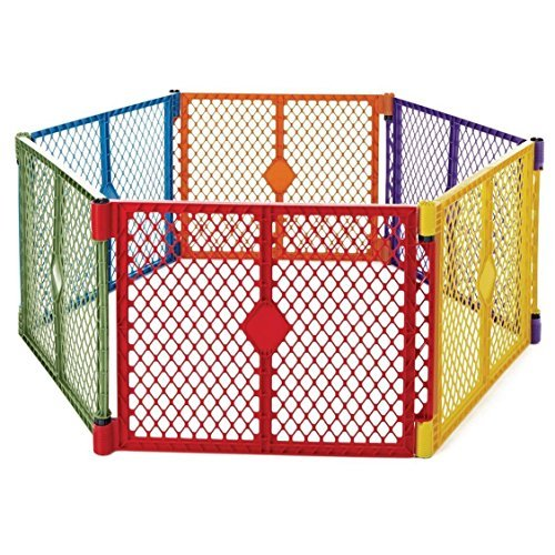 NEW! NEW & SEALED! North States Superyard Lightweight & Portable Play Yard (6 Panels) by Prathai [並行輸入品]