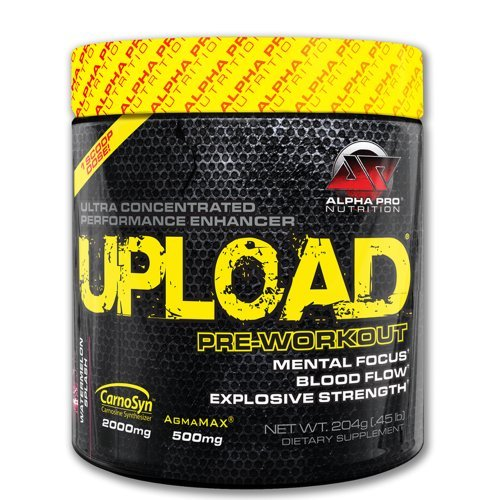 Upload Pre Workout, Alpha Pro Nutrition, 204G, 30 Servings