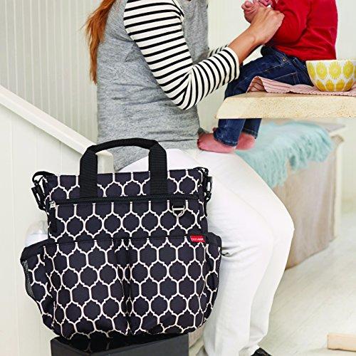 Skip Hop Duo Signature Diaper Bag, Onyx Tile