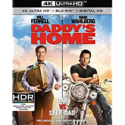Daddy's Home [4K Ultra HD + Blu-ray]