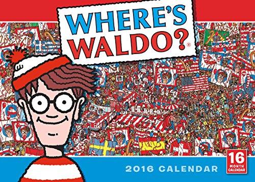 Where's Waldo? 2016 Calendar