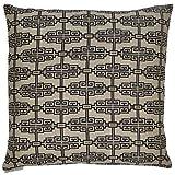 Van Ness Studio Catalonia Decorative Throw Pillow, Ebony
