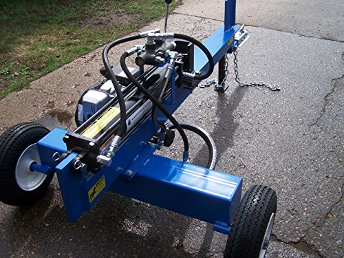 Horizontal 20 Ton Log Splitter With A 2Hp Electric Motor