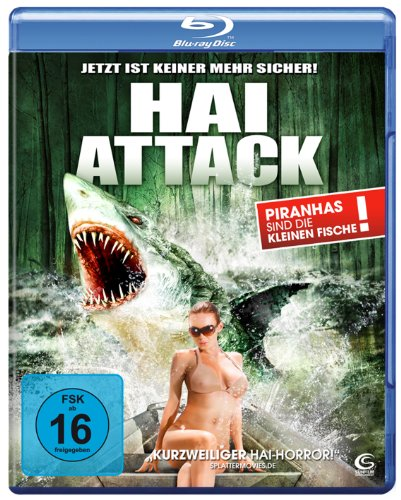 Hai Attack (Swamp Shark) [Blu-ray]