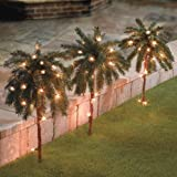 Brylanehome Set Of 3 Pre-Lit 2' Pathway Trees