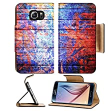 buy Msd Samsung Galaxy S6 Flip Pu Leather Wallet Case Art Wooden Texture Background Image 30377999