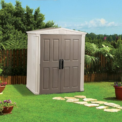 Cheap price keter 17181164 6 foot by 3 foot apex for Simply sheds online