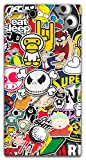 The Racoon Lean Sticker Bomb hard plastic printed back case / cover for Sony Xperia Z Ultra