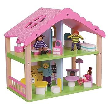 Lelin maison de poupées meublée