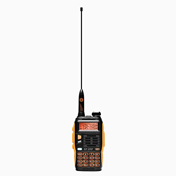 BAOFENG GT-3TP MARK III HP VHF UHF TRI-POWER 8W WALKIE TALKIE HAM RADIO BIDIRECCIONAL