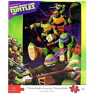 teenage mutant ninja turtles 3 foot poster puzzle 200