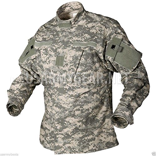 New US Army Military Acu Digital Combat Uniform Shirt Top Jacket Blouse (Medium/Regular)