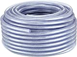 KAYSER GmbH Compressed-Air Hose 50 m x 13 mm x 3 mm 8 Bar Transparent and Flexible PVC Plastic