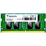 ADATA 8GB DDR4 2400 (PC4-19200) SODIMM Laptop Memory Module Single Pack (AD4S240038G17-S) (Tamaño: 8 Gb)