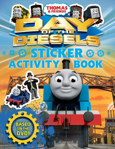 Day of the Diesels: Sticker Activity Book (Thomas & Friends)