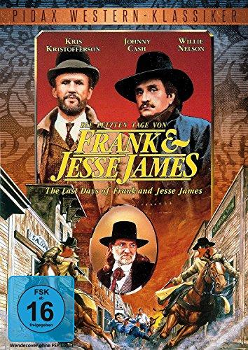 Die letzten Tage von Frank und Jesse James (The Last Days of Frank and Jesse James) / Legendärer Western mit Starbesetzung (Pidax Western-Klassiker)